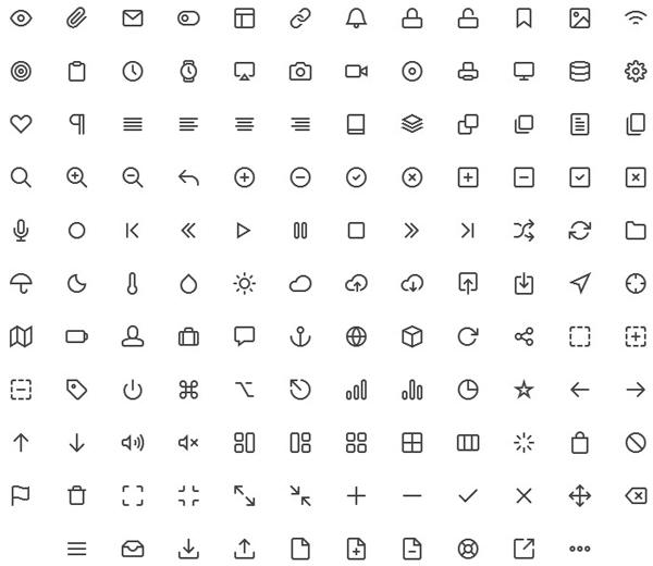 Free Download: Feather 130 Free Icons in PSD, CSH, and SVG
