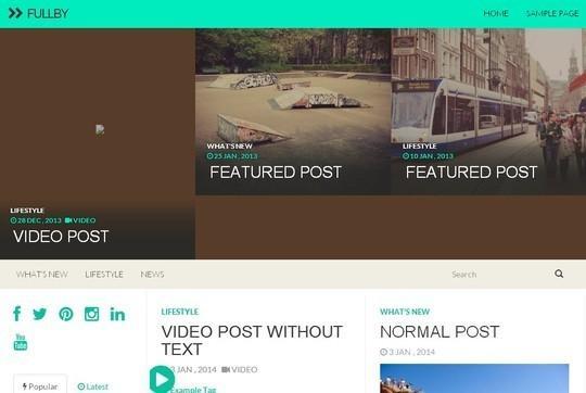 40 Fresh And Free WordPress Themes