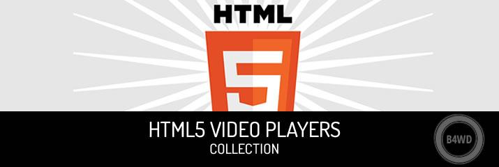 Html5 Video Players for your Website