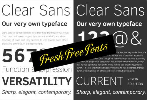 70 New High Quality Free Fonts For Professional Designers