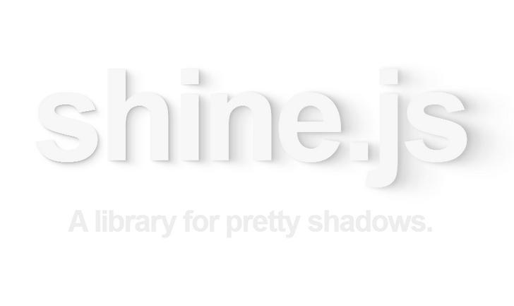 A library for pretty shadows