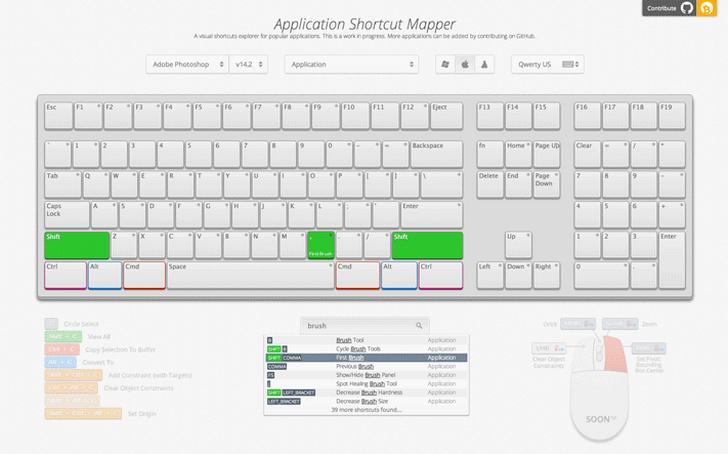 Application Shortcut Mapper