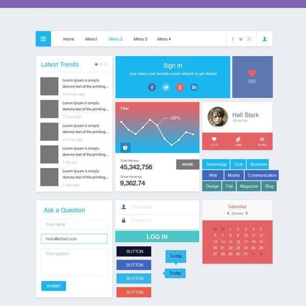 Freebie: Simple UI Kit