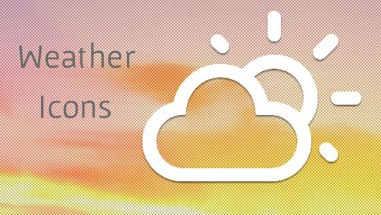 Weather Icons Ready for Bootstrap