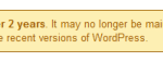 wordpress-plugin-outdated
