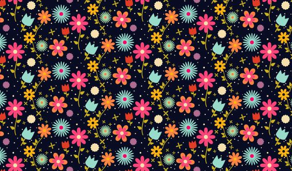 Create an Easy Field of Flowers Pattern Design in Adobe Illustrator