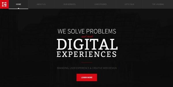 25 Inspiring Dark Website Designs