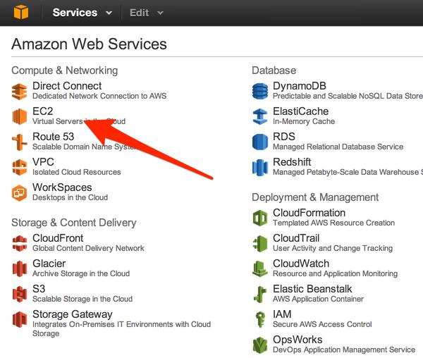 Installing WordPress in the Amazon Cloud