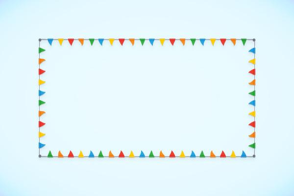 How to Create a Flag Bunting Pattern Brush in Adobe Illustrator
