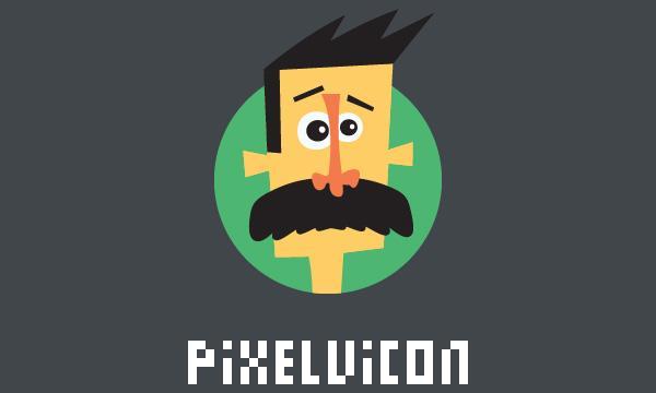 Pixelvicon Icon Set (80 Icons – PSD, PNG, SVG, Webfont)