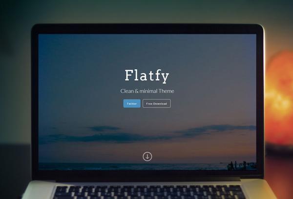 Free Download : Clean & minimal Theme