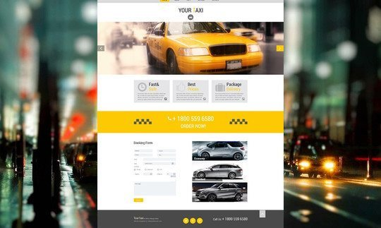40 Fresh Yet Free HTML5 And CSS3 Templates