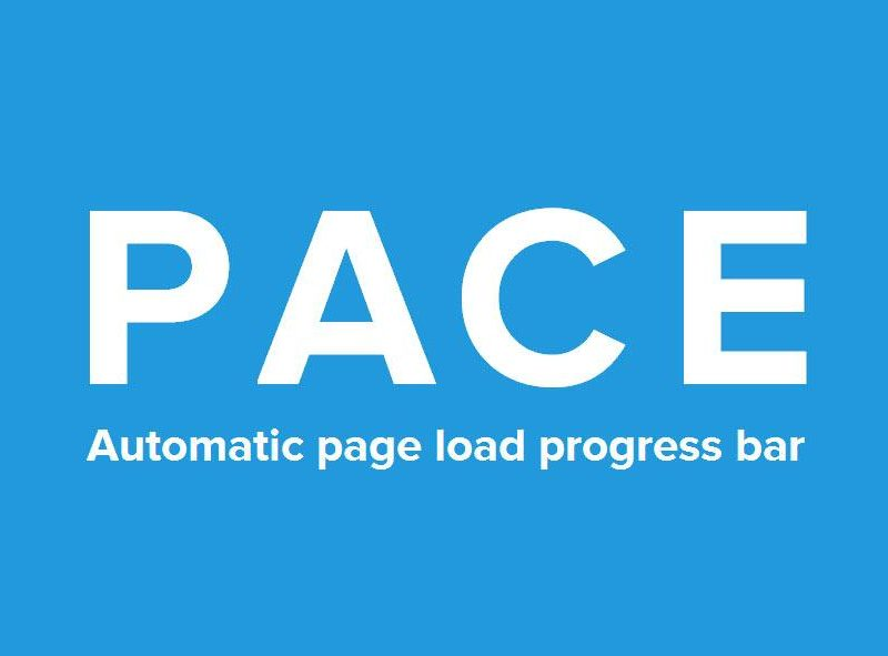 Create Your Own Page Load Progress Bar with Pace.js