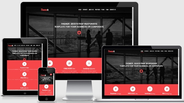 Themer-Free Bootstrap Responsive web template