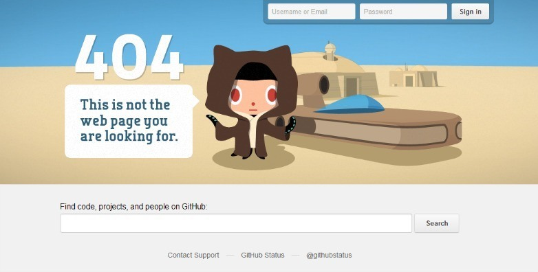 5 essential elements of a successful 404 error page