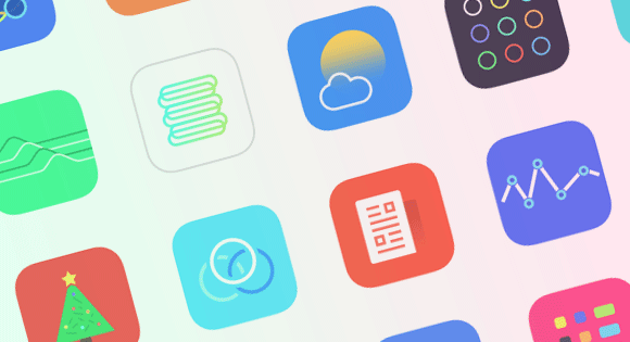 Freebie: Jellycons iOS 8 App Icon Set (PNG, Sketch)