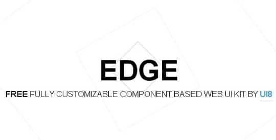 Free Download : Edge UI Kit