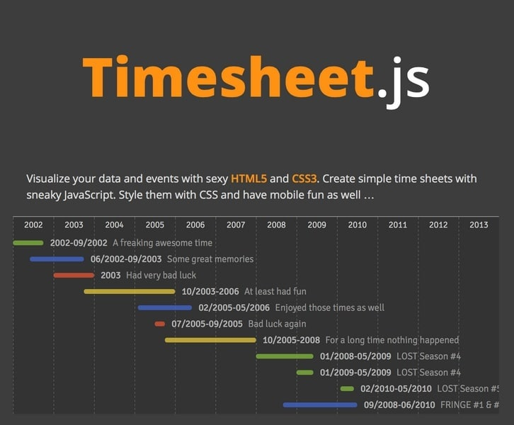 create html time sheets best 4 web design