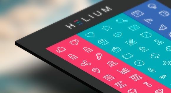 Freebie: Helium Icon Set (AI, EPS, SVG, Icon Font)