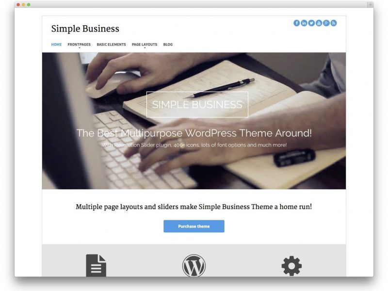 20 Best Free Bootstrap WordPress Themes