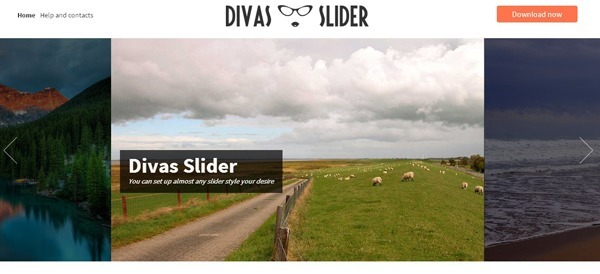 Slider, fully responsive and touch enabled