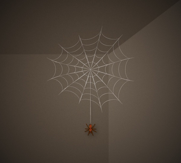 How to Create a Simple Spider Web Illustration in Adobe Illustrator