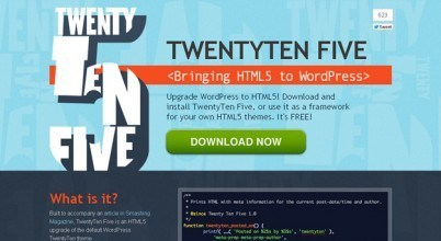 15 Free HTML5 WordPress Theme Frameworks