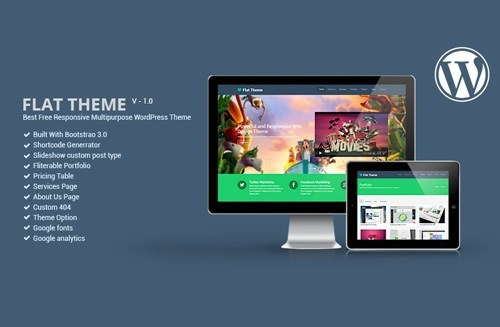 40 Best Free Bootstrap 3 Themes – WordPress and HTML