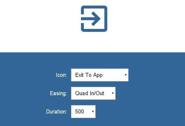 JavaScript library enabling SVG icons to morph from one to the other