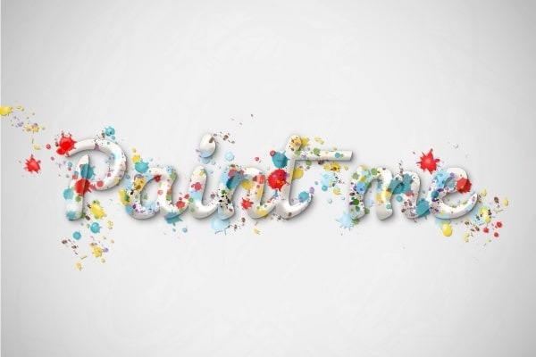 Create a Multicolored Splashed Text Effect in Adobe Illustrator