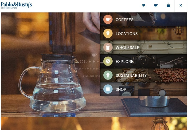 Use of Vertically-Oriented Slide-Out Menus in Website Design