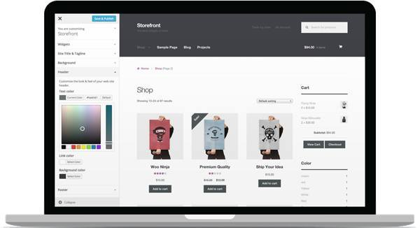 Storefront is an intuitive & flexible, free theme offering deep integration with WooCommerce