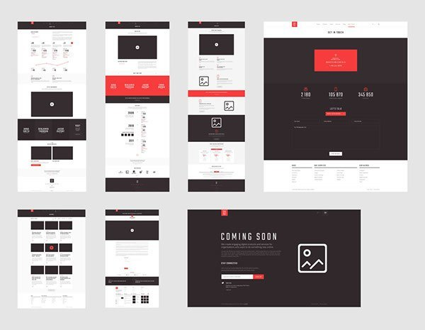 Sage PSD Template – Free Download