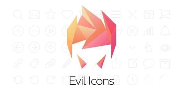 Lightweight SVG icons for your web project