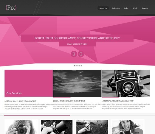 20 Free Responsive and Mobile Website Templates