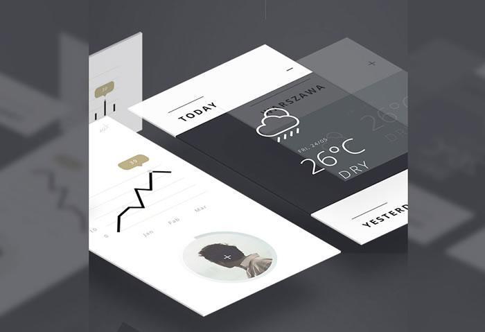 Minimalist UI Kit