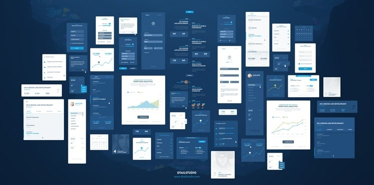 EventRay UI KIT – Free Download
