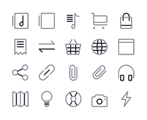 300 free Sketch Icons