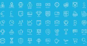 60 business icons by Icons Mind – Free download