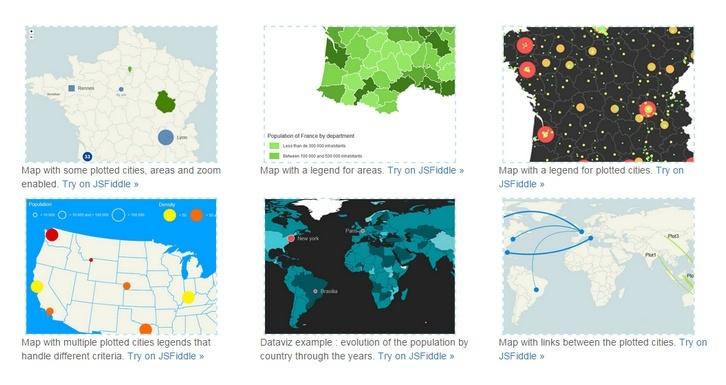 Display Dynamic Vector Maps