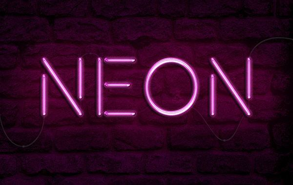 How to Create a Realistic Neon Light Text Effect in Adobe