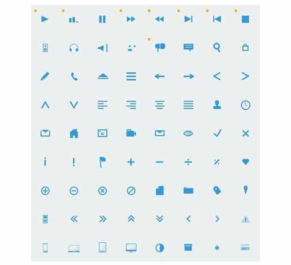 CSS-only icons – Littlebox