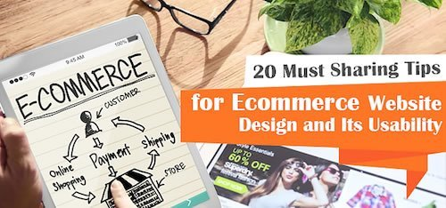 20 Best Ways to Make Your eCommerce Website Design Successful