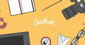 Flat-style illustrations – free download