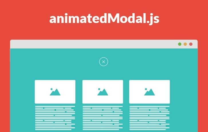 Create Fullscreen Modal with CSS3 Transitions – animatedModal.js