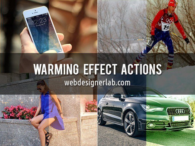 Warming Effect Photoshop Actions