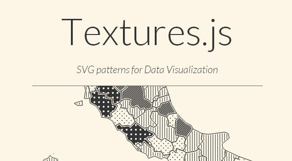 Textures js is a Javascript library for creating SVG patterns | Best