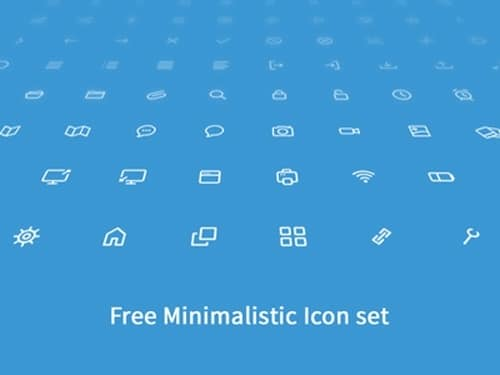 Minimalistic Icon Set