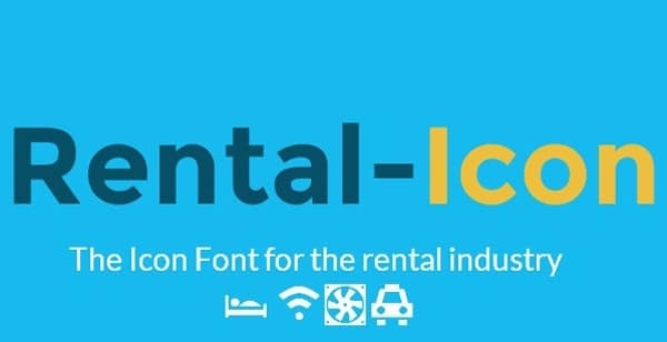 The Icon Font for the Rental Industry