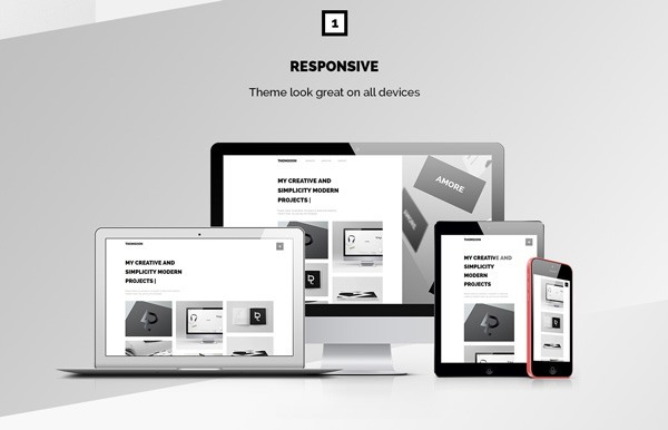 Free Responsive Modern and Clean HTML5, CSS3 Theme